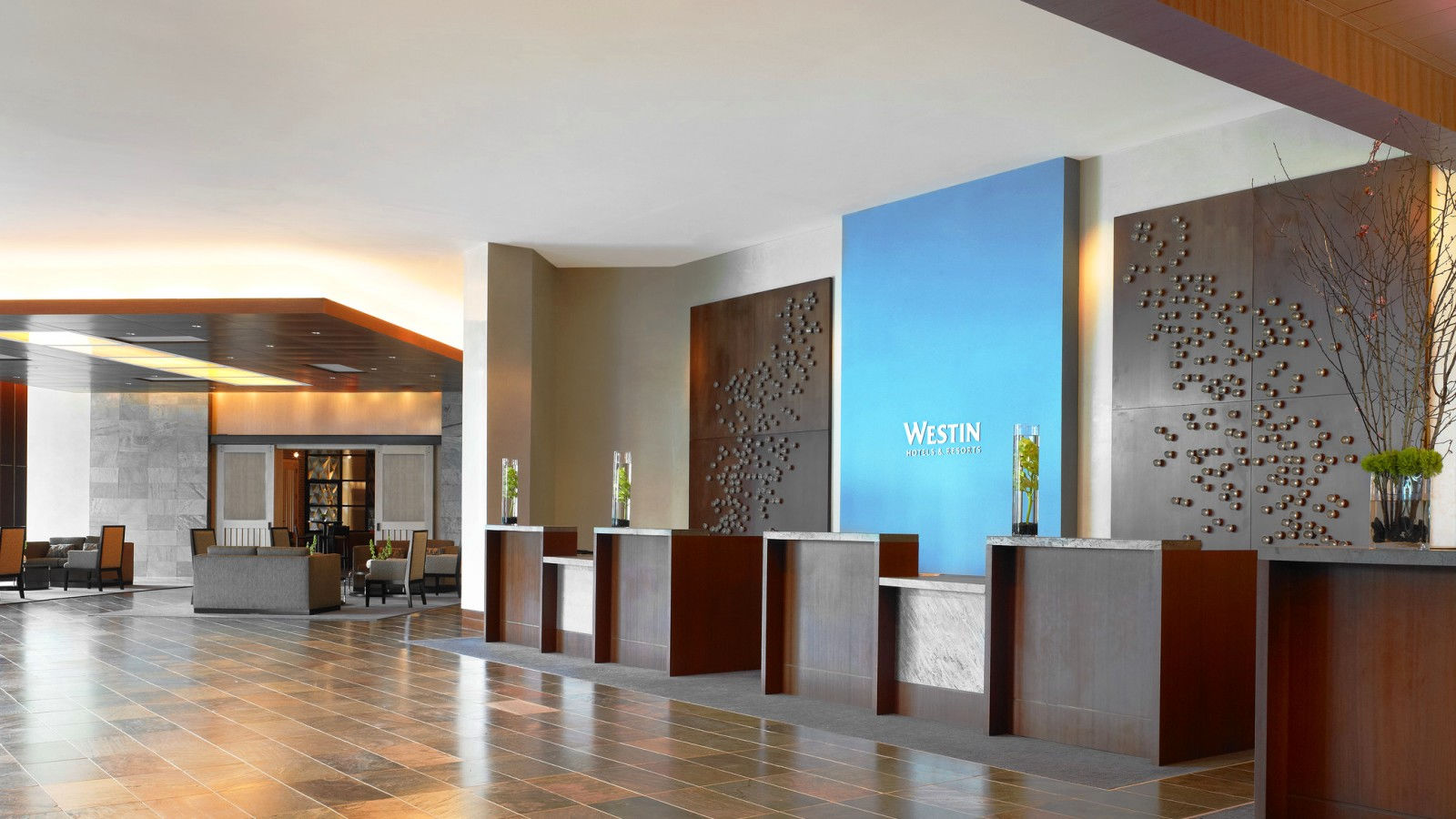 The Westin Houston, Memorial City Lobby - conveniently located near our parking facilities.