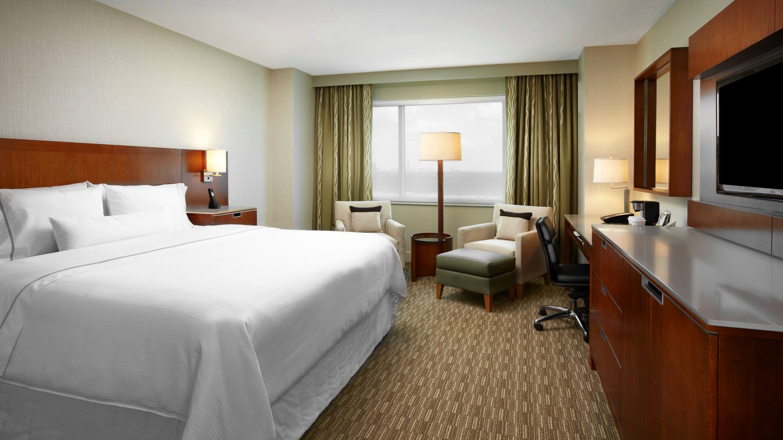 A Traditional Room at The Westin Houston, Memorial City.