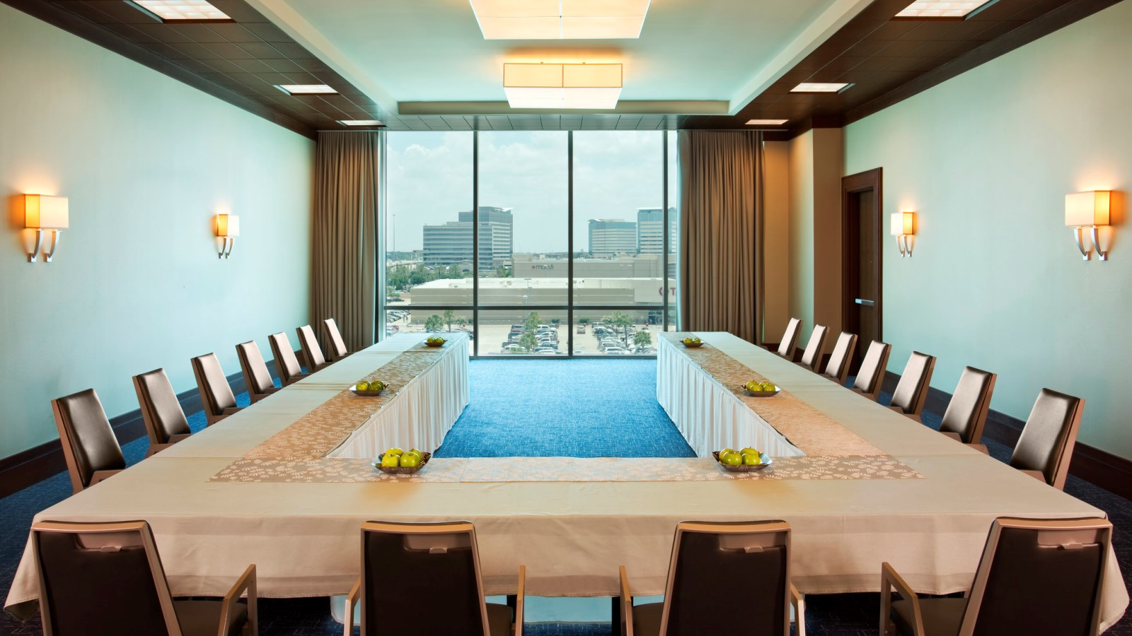 The view of Memorial City from the Cypress Room - Houston Meetings & Events Venues.