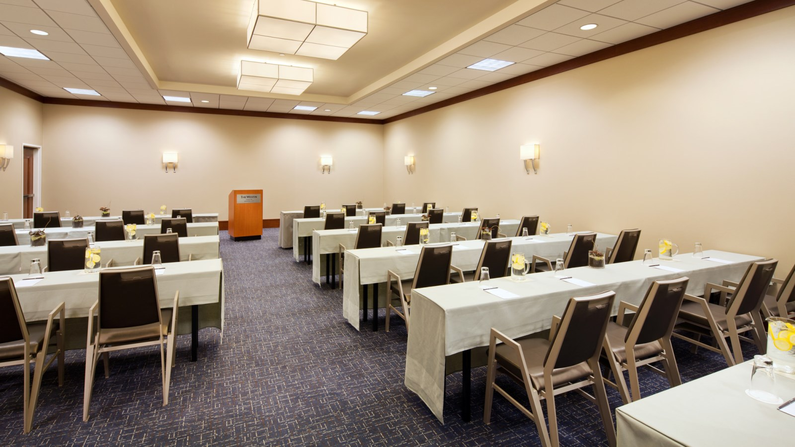 The Willow Room - a great venue for seminars and corporate training.
