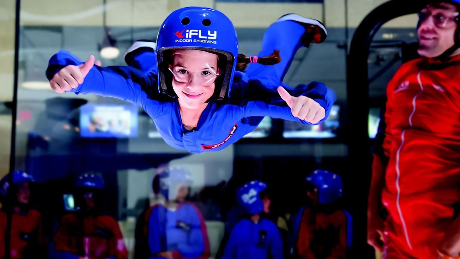 Indoor skydiving at iFLY Houston - just a short distance from the Westin Houston, Memorial City.