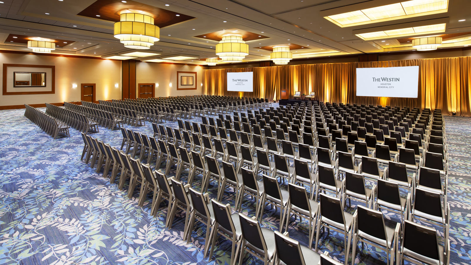 The Azalea Ballroom - one of many event spaces available to you for Houston and Energy Corridor Events.