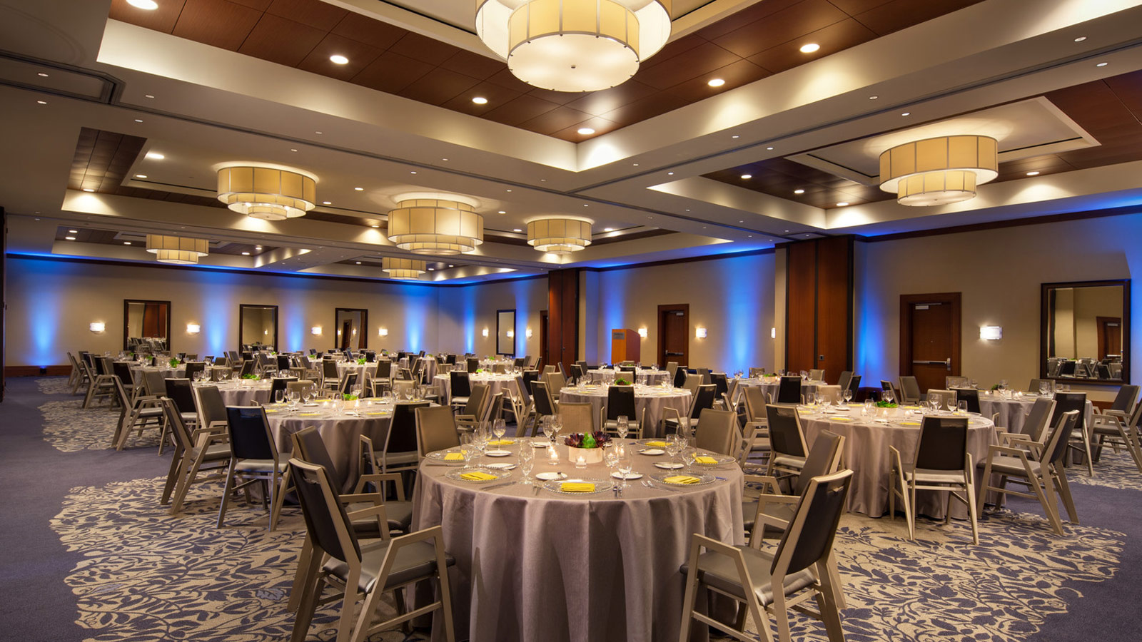 A shot of the Wisteria Ballroom at The Westin Houston, Memorial City - perfect for corporate events and conferences.