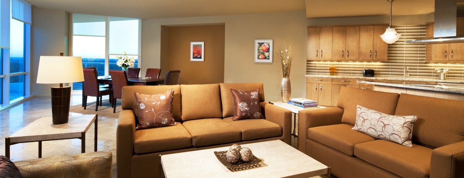 A Luxury Suite often used for extended stays at The Westin Houston, Memorial City